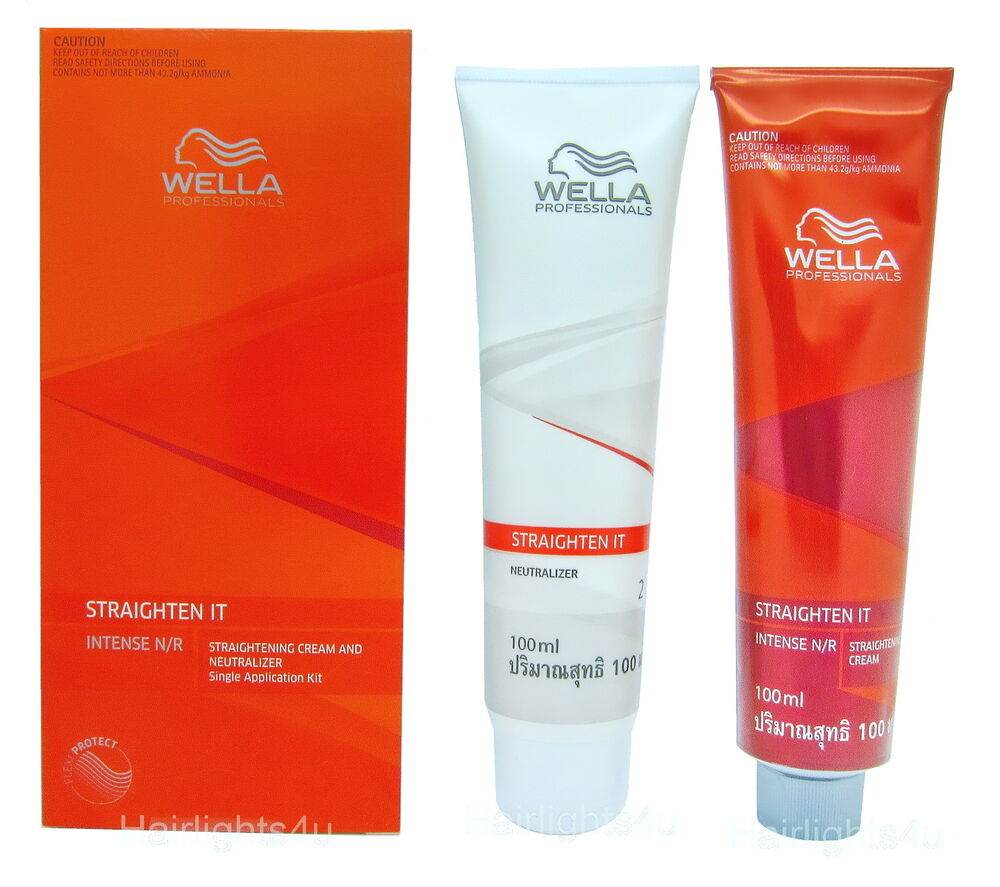 Wella Wellastrate Intense Hair Relaxer Permanent Hair