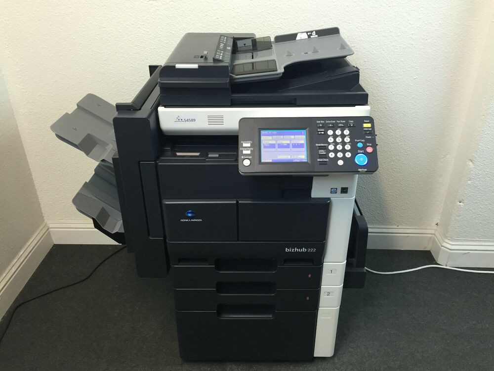 Konica Minolta Bizhub 222 Copier Printer Scanner Network