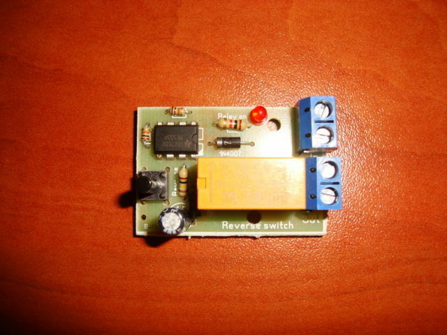 Push Button Dc Motor Reverse Polarity Switch Dpdt Relay