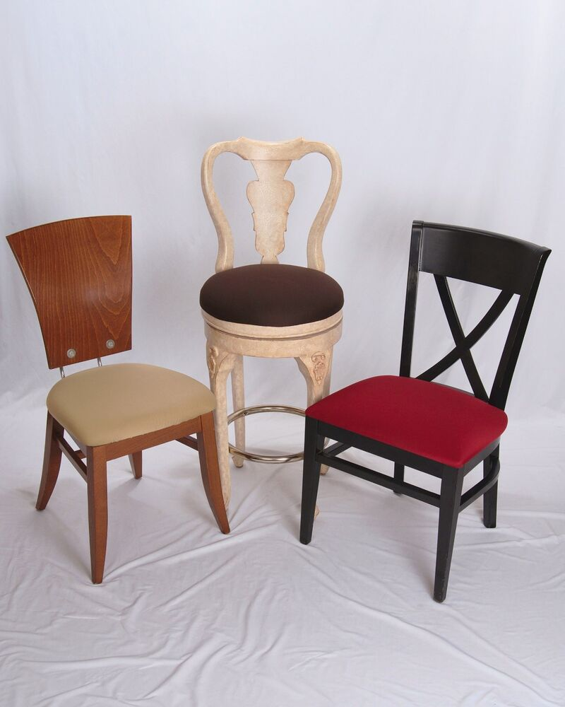 EZ CHAIR COVERS DINING ROOM CHAIR COVERS PACK OF 6 BEIGE