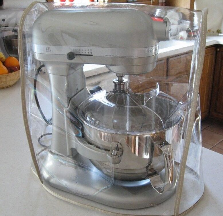 CLEAR MIXER COVER WTAN Trim Fits KitchenAid Bowl Lift