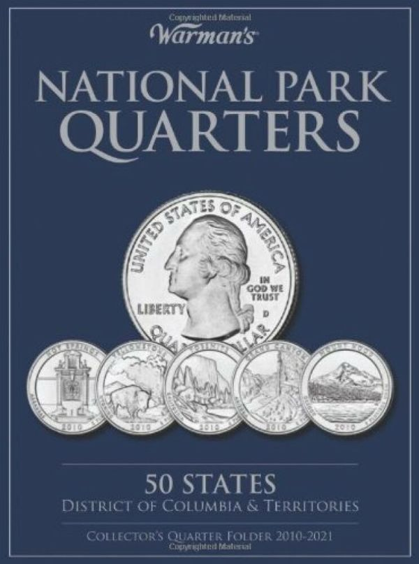 National Parks Quarters 50 States + District of Columbia ...
