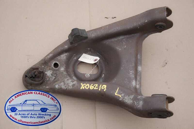 64 72 Gm A Body Left Front Lower Control A Arm W Oval