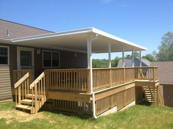 metal patio covers awnings Quality Aluminum Patio Covers Kits (.032), Multiple Sizes