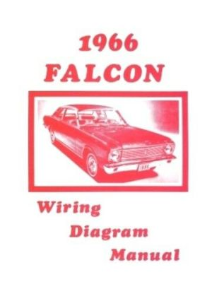FORD 1966 Falcon Wiring Diagram Manual 66 | eBay