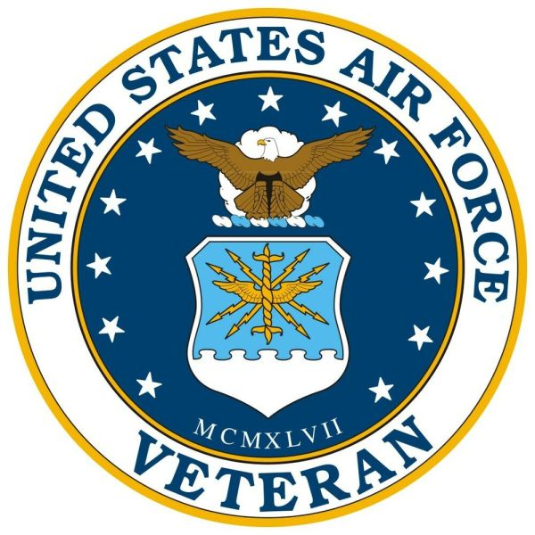 United States Air Force Veteran Window Decal Sticker NEW ...
