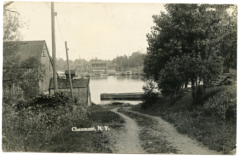 RPPC NY Chaumont Bay Looking At Yacht Club Down Road