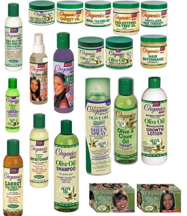 ORGANICS OLIVE OIL AFRICA'S BEST AFRO HAIR CARE PRODUCTS ...