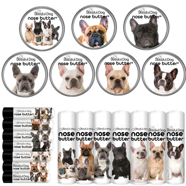 french bulldog nose butter® for dry noses choice 7 frenchie labels