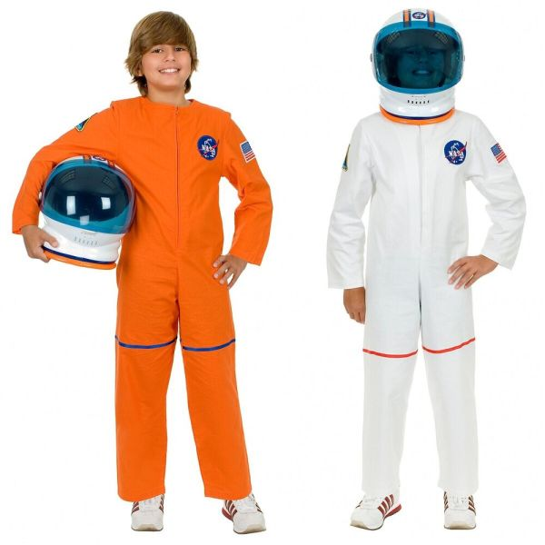 Astronaut Costume Kids NASA Spaceman Halloween Fancy Dress ...