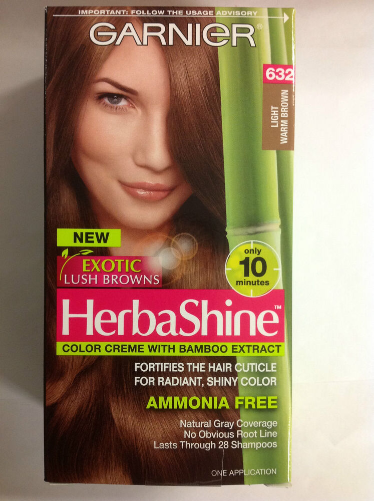Garnier Herbashine Haircolor Creme 632 Light Warm Brown