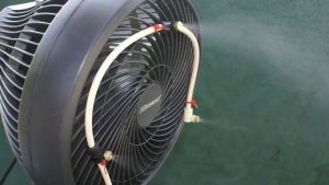 Misting Fan 3 Nozzle Water Mister US Made EBay