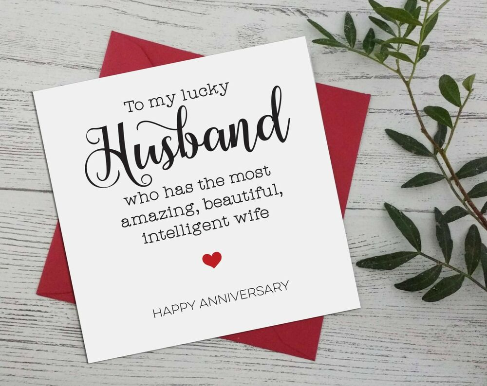 Wedding Anniversary, Funny, Banter For Husband From Wife