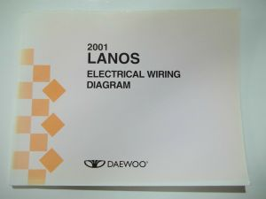2001 Daewoo Lanos Electrical Wiring Diagram Service Manual