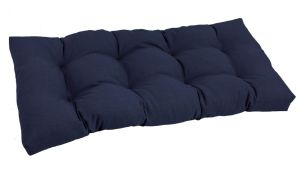 Blazing Needles Solid Tufted All Weather Outdoor Loveseat