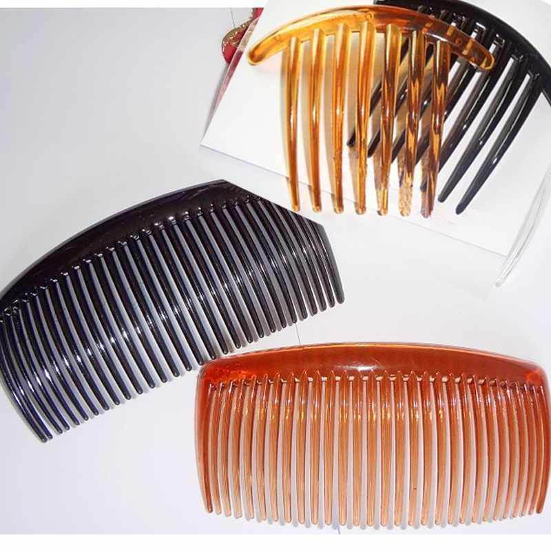 Black Hair Combs Black Coffee French Twist Hair Combs For