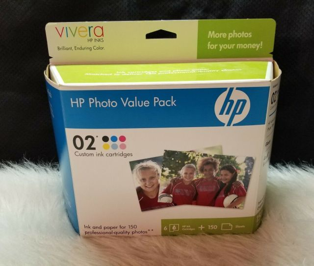 Upc 829160897400 Product Image For B 1005l Lot Of 12 Ink Cartridges Hp Custom 02
