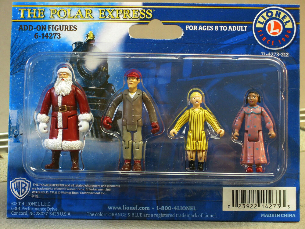 LIONEL POLAR EXPRESS ADD ON FIGURES Dudes Train People