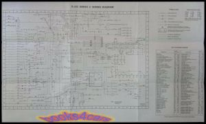 JAGUAR XJ6C ELECTRICAL WIRING DIAGRAM WALL CHART MANUAL | eBay