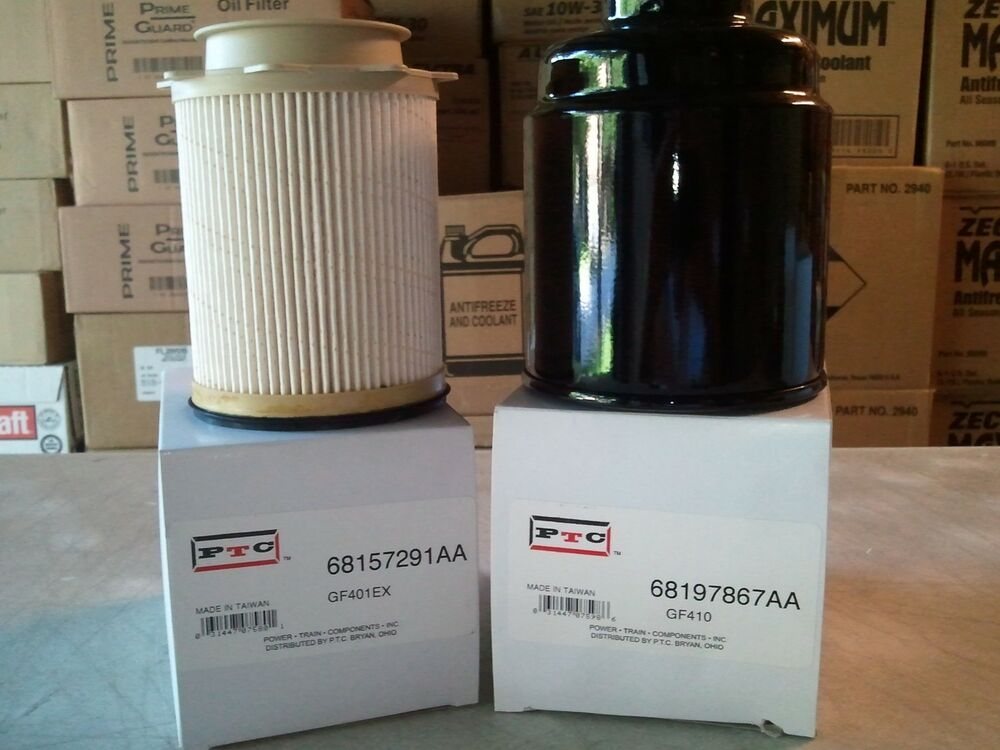 Dodge Ram 6 7sel Fuel Filter Kit