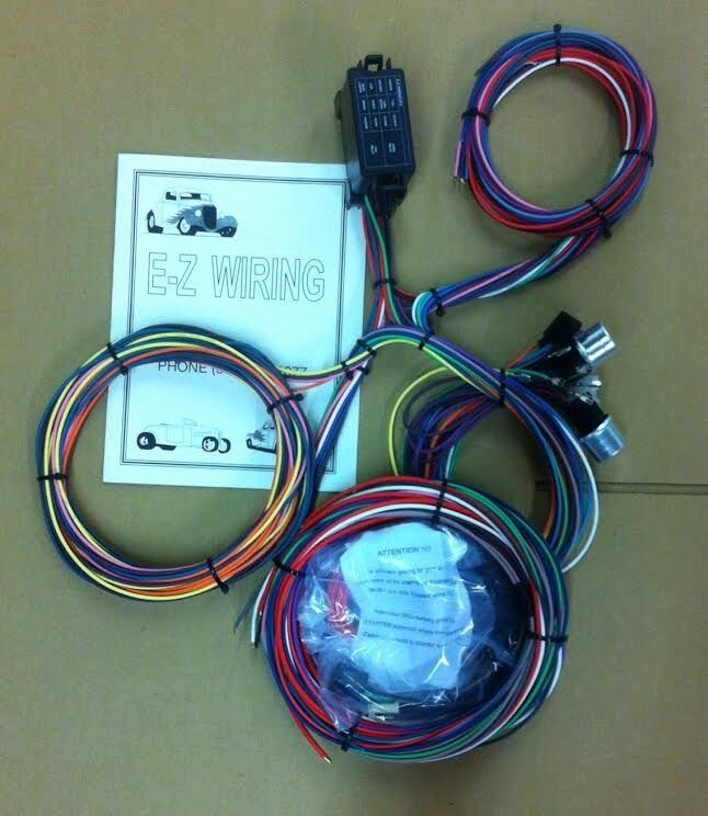 Universal 12 Circuit Mini Hot Rod Wiring Harness