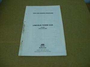 1990 Lincoln Town Car wiring diagram electrical schematics