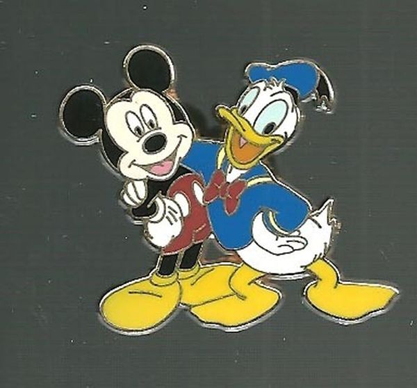 Disney Pin Disneyland Mickey Mouse 2007 Donald Duck pals ...