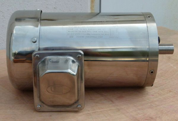 Surplus Sale! Gator Stainless Steel AC Motor 1.5HP 3600RPM ...