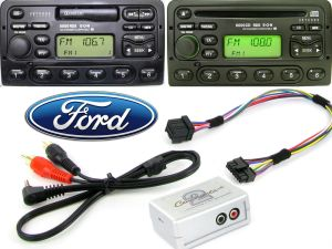 Ford AUX input adapter interface in car stereo 4050 5000