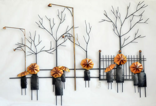 Home Modern Abstract Metal Art Wall Hanging Decoration
