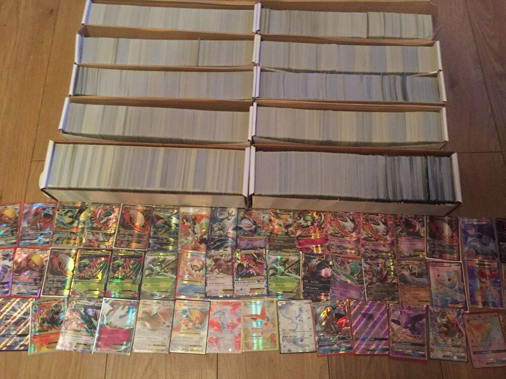 Pokemon Card Bundle Joblot 100x Cards HOLOS GUARANTEED