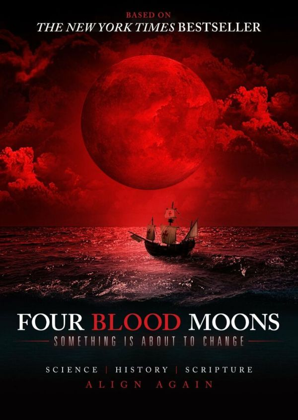 FOUR BLOOD MOONS - DVD Docu-Drama Based on Best-Selling ...