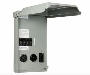 100Amp 3SpaceCircuit 120240Volt Unmetered RV Outlet