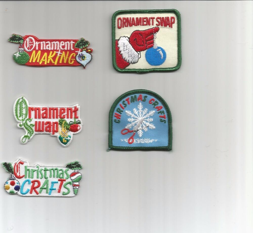 GirlBoy ScoutGuides PatchCrestBadge CHRISTMAS CRAFTS