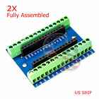 Nano Expansion Terminal Adapter For Arduino Nano V3.0 AVR ATMEGA328P-AU Board