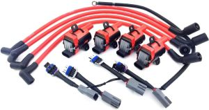 D585 UF262 IGNITION COIL PACKS MAZDA 10MM WIRES RX8 RX8