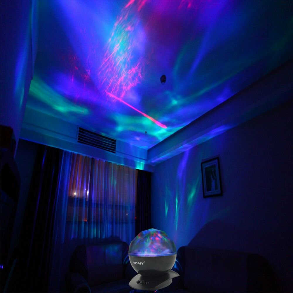 Psychedelic Lamp Light Aurora Borealis Projector