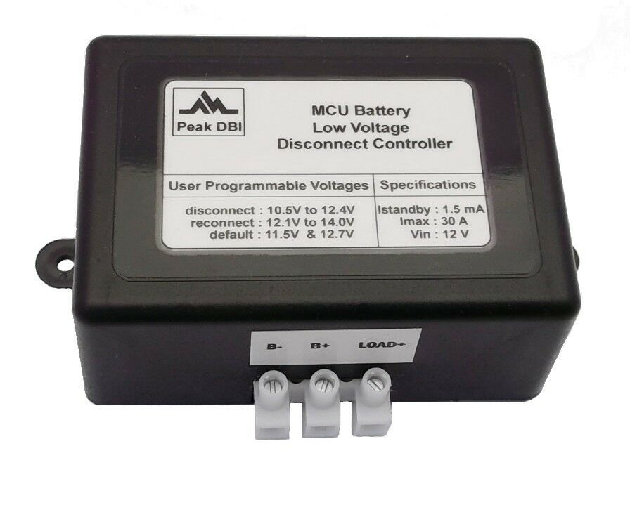 12 Volt Battery Low Voltage Cut-out/cutout/cutoff/cut-off