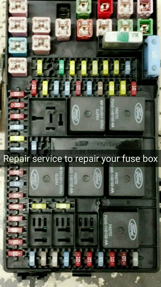 Ford Excursion Fuse Box Repair Service Gas Engines