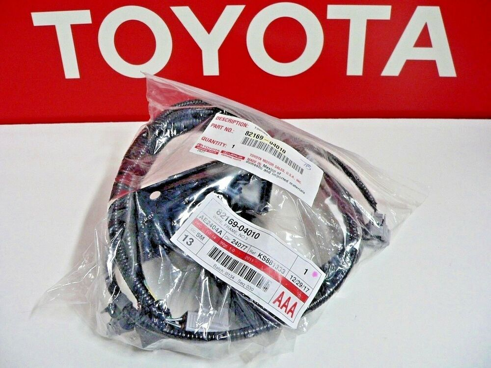 TACOMA (2005-15) TRAILER TOW HITCH WIRING HARNESS 7 PIN