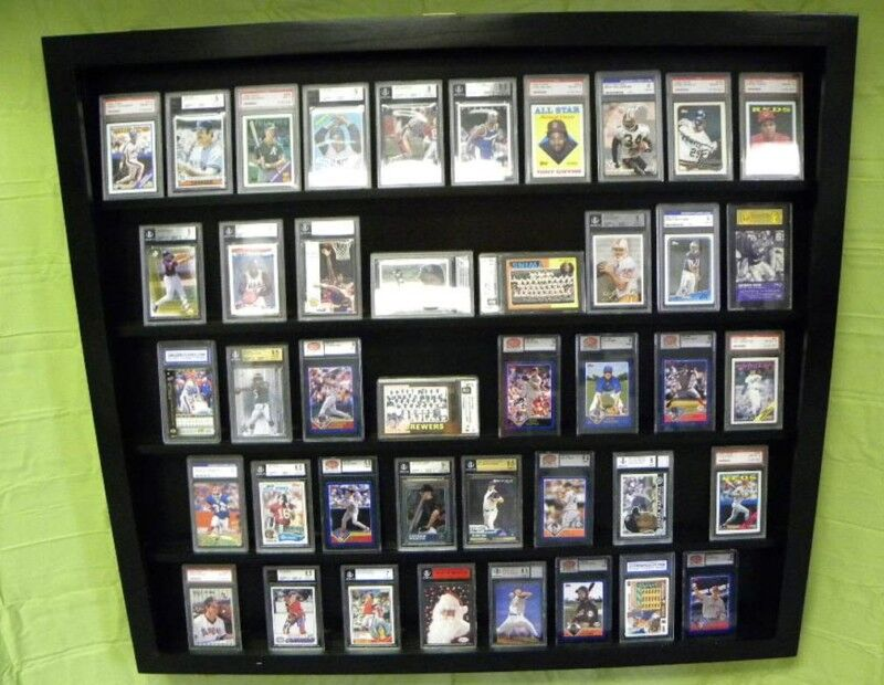Sports Card Display Case 50 PSA Deep Beckett EBay