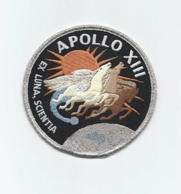 Apollo 13 Mission Emblem Patch Official NASA Edition quotFailure Is Not An Optionquot eBay