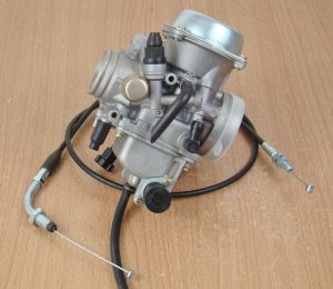 Carburetor W Throttle Cable Kawasaki ATV KLF300 Bayou 300
