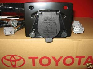 20052015 TACOMA TRAILER TOW HITCH WIRE HARNESS 7PIN