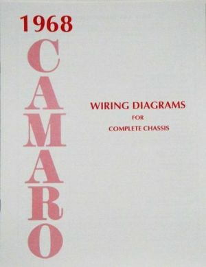 68 1968 Chevrolet Camaro Electrical Wiring Diagram Manual
