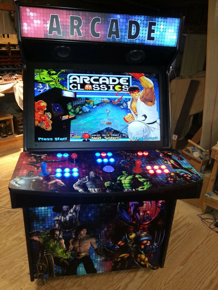 """Fun group games for kids and adults are a great way to bring. 2 Player 40"""" LED Home Arcade Game MAME(TM) - ArcadesRFun ..."""