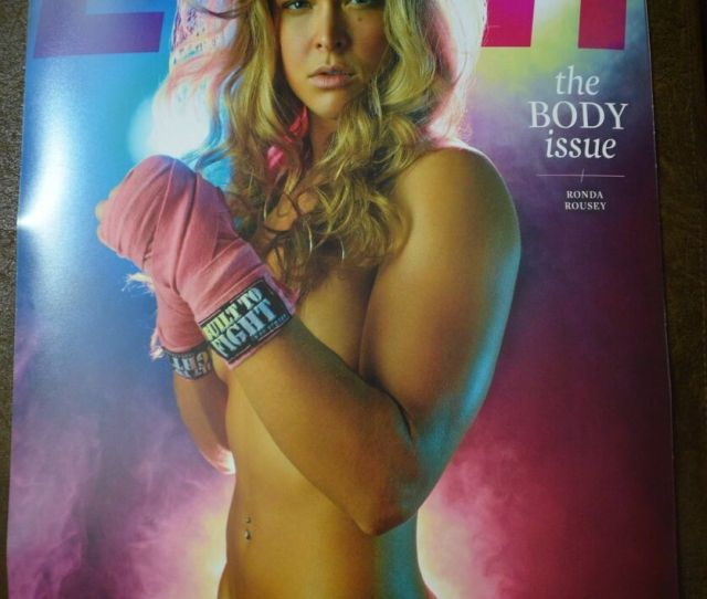 Details About Ufc Ronda Rousey Nude Naked 16x20 Poster Espn Body Issue Cover Sexy