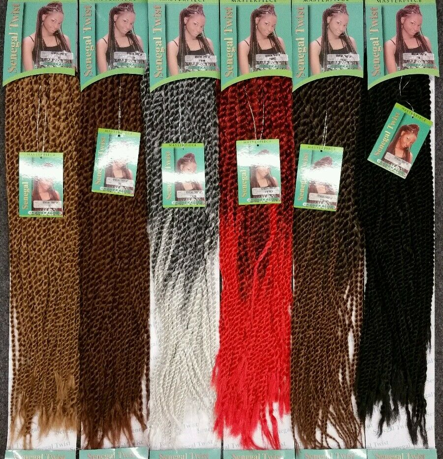 MASTER PIECE SENEGAL TWIST 24 HAIR FOR CROCHET BRAID