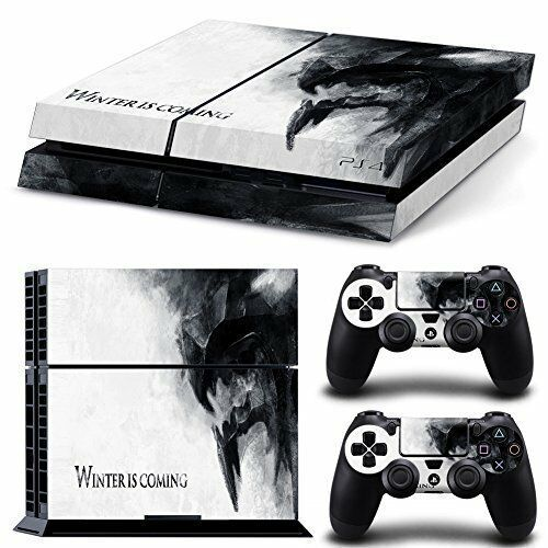 PS4 Skin Amp Controllers Skin Vinyl Sticker For PlayStation 4 Game Of Thrones EBay