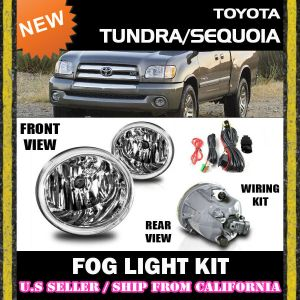 0107 TOYOTA TUNDRA SEQUOIA Fog Lights Driving Lamp Kit w